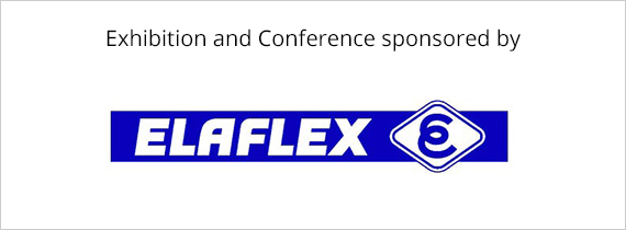 Exhibition and Conference sponsored by ELAFLEX